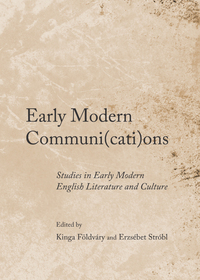 Early Modern Communi(cati)ons
